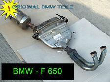 BMW - F 650  Auspuff - Abgasanlage - Abgaskrümmer + Endschalldämpfer