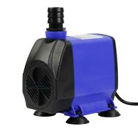 1200 GPH Submersible Water Pump Powerhead Adjustable Aquarium Pond Hydroponic