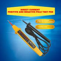 8in1 Spannungsprüfer Stromprüfer Spannungstester 6-380V Volt Polarität Prüflampe