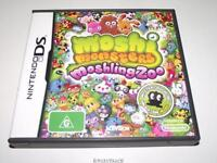 Moshi Monsters Moshling Zoo Nintendo DS 3DS Game *Complete*