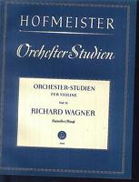 """HOFMEISTER - Orchesterstudien für Violine Heft 23 """" RICHARD WAGNER """""""
