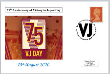 2020 75th anniversary victory in japan vj day ww2 wwii postal card #2