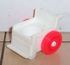 Vintage 80's Fisher Price Little People Hospital Wheel Chair #932 FPLP