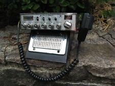 vintage COBRA 148GTL 148 GTL Mobile CB Radio w/mic & OAKTRON CBM-C Speaker