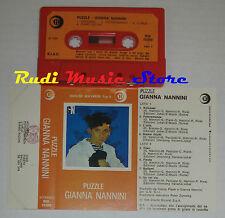 MC GIANNA NANNINI Puzzle 1984 1 stampa italy RICORDI RIK 76309 cd lp dvd vhs * *