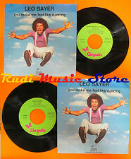 LP 45 7'' LEO SAYER You make me feel like dancing Magdalena 1976 italy cd mc*dvd