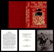 Miniature Book Illustrated Hound of the Baskervilles Holmes for 1:12 Dollhouse