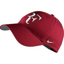 NEW Nike Hybrid RF Roger Federer Hat 371202-621 Gym Red / Flint Grey / White