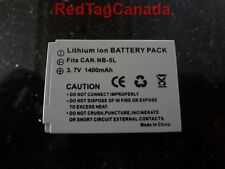Battery for Canon NB-5L PowerShot SX200 SX210 SX220 SX230 IS IXUS 870 980 990 IS