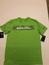 Seattle Seahawks Nike Dri-Fit  Sideline Seismic Legend Performance Shirt Size: L
