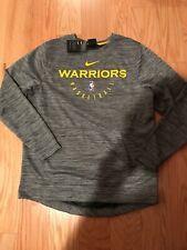 NIKE NBA GOLDEN STATE WARRIORS Spotlight Crew DriFit Sweatshirt SZ L 941064-010