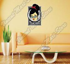 "School Exclusive Teacher Professor Gift Wall Sticker Room Interior Decor 20""X25"""