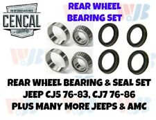 Rear Wheel Bearing & Seal Set JEEP CJ5 CJ7 SCRAMBLER  A5  8549S  KIT 20