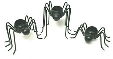 Pottery Barn Halloween Metal Spider Candle Holder 3 Sizes
