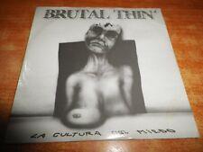 BRUTAL THIN La cultura del miedo CD ALBUM PROMO CARTON DEL AÑO 1997 9 TEMAS