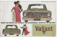 Chrysler VALIANT AP7 Australian car sales brochure 1966-67