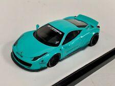 1/64 Ferrari 458  Liberty walk LB Performance Tiffany Blue
