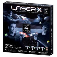 Laser X Real Life Micro Laser Blaster - 4 Player Pack Laser Tag Gaming Game