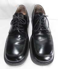 ALFANI Empire Men's BLACK Leather Shoes Sz 11.5 Oxford Work Comfort Ortho Safety