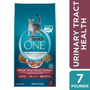 Purina ONE Urinary Tract Health Dry Cat Food; Urinary Tract Health Formula - 7 l
