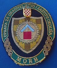 Croatian army, Hrvatska vojska - HV, vintage badge + patch MORH, very rarre !
