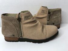 067f7d378af4 SOREL WOMEN S Major Low Canvas Ankle Boots NL2162-265 8.5