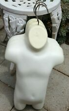 (4) Mannequin toddler/child White Body Hanging w/hook Dress Forms