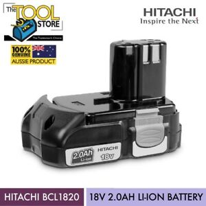 HITACHI BCL1820 18V 2.0AH LI-ION BATTERY