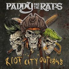 PADDY AND THE RATS - RIOT CITY OUTLAWS   CD NEW!
