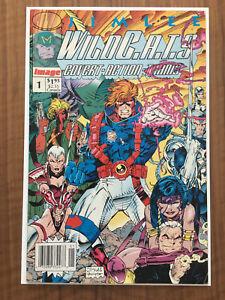 WildC.A.T.S. WildCats #1 Jim Lee Image Comic UPC Newsstand Variant VG+
