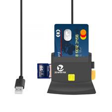 Zoweetek® Lector de DNI Electrónico multifunción Para Todo Tipo de Tarjeta de Ap