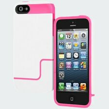 Incipio EDGE PRO for iPhone 5 - Optical White / Hot Pink -