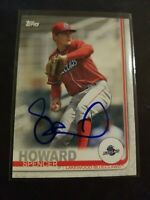 Spencer Howard 2019 Topps Pro Debut Signed Auto Card Philadelphia Phillies IP RC