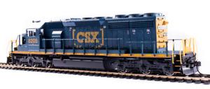 BROADWAY LIMITED 6783 HO EMD SD40-2 CSX 8205 Box Car Scheme Paragon4 Sound/DCC