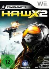 Nintendo Wii +Wii U Tom Clancy's H.A.W.X. 2 HAWX 2 Deutsch GuterZust.