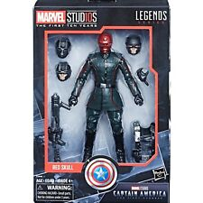 "(IN-HAND) Marvel Legends 10th Anniversary Captain America Red Skull 6"" NEW"