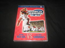 RED SOX 2004 WORLD SERIES CHAMPIONS OFFICIALLY LICENSED MLB BASEBALL DVD SEALED