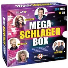 Mega Schlager Box [10 CD Box Set] [2016] - Shop24Direct