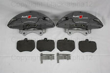 Audi rs6 4f/q7 v12 cerámica/ceramic pinzas freno, Alcon, freno 420mm