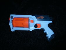 Nerf N-Strike White Out Whiteout Maverick REV-6 Revolver Dart Gun -FREE SHIPPING