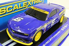 Scalextric C3258 Chevrolet Camaro Gt-R Sunoco New In Display 1/32 Slot Car Dpr
