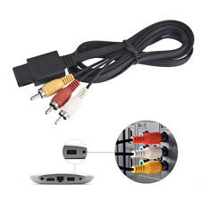 New RCA AV TV Audio Video Stereo Composite Cord Cable For Nintendo 64 YM