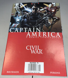CAPTAIN AMERICA #23 Marvel Civil War NEWSSTAND Variant 2006