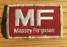 Vintage Massey Ferguson MF Patch Red White Tractors Farm Farming Agriculture