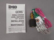 Gems Sensors 01701 Liquid Level Switch 0-180 Deg F Operating Temp NEW