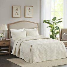Madison Park Quebec 3 Pc Bedspread Double Sided Bohemian Design. Cottage Style D