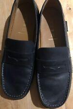 Geox Blue Respira Auth.  Leather Boy's Shoes,Size USA 7.5 ,EU 40,Worn Twice Only