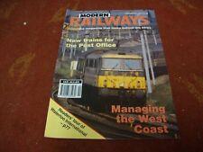 MODERN RAILWAYS MAGAZINE  Volume 51  No 550   Julyl 1994