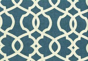 Magnolia Home Fabric Emory Yacht  Cotton  Print  Drapery Upholstery