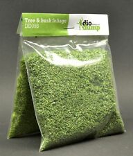 DioDump DD098 Tree & bush foliage - dark + mid green 2 x 20g - diorama scenery